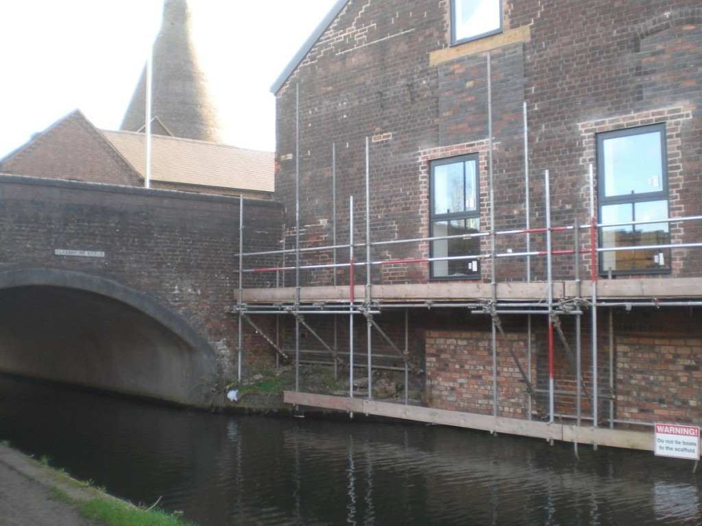 Rear of WHC Site fronting canal with RHC in background (4)